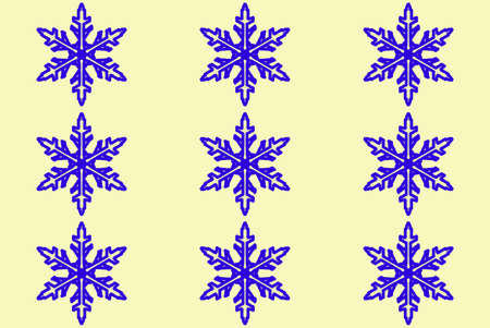 appealing attractive: Seamless pattern with snowflakes