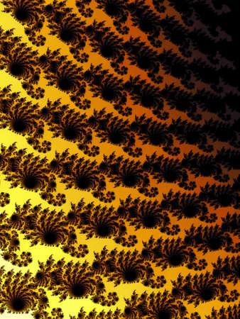 appealing: Decorative fractal background
