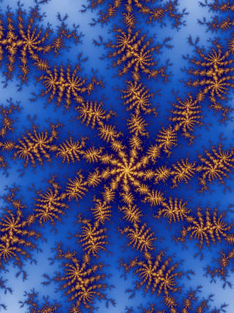 dynamically: Decorative fractal background