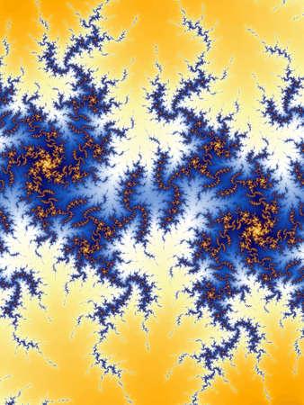 Decorative fractal background