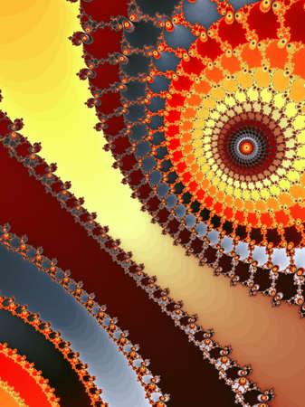 dynamically: Decorative fractal background