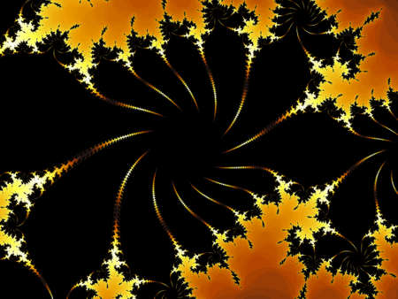 tempting: Decorative fractal background