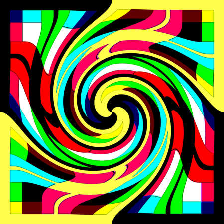 dynamically: Abstraction decorative background with spiral Stock Photo