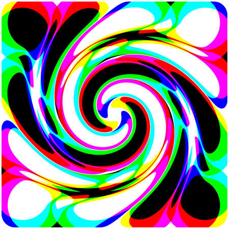 Abstraction decorative background with spiral Stock Photo