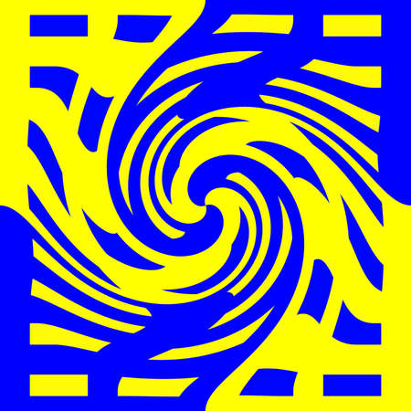 dynamically: Abstraction decorative spiral in a bright colors