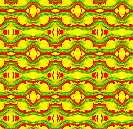 Seamless decorative pattern in a bright translucent colors