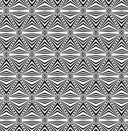 Seamless geometric pattern with a stars Stock Photo - 104193976