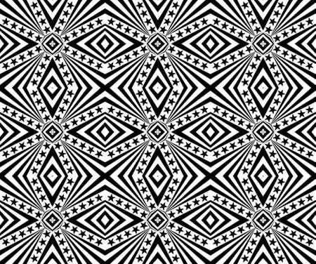 Seamless geometric pattern with a stars Stock Photo - 104193977