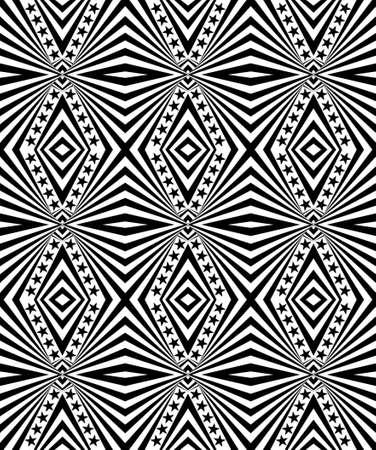Seamless geometric pattern with a stars Stock Photo - 104193979