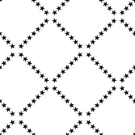 Seamless geometric pattern with a stars Stock Photo - 104193981