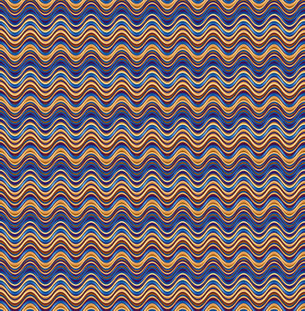 Seamless decorative Berta's pattern with curves and waves. The Author - Peshkareva Irina