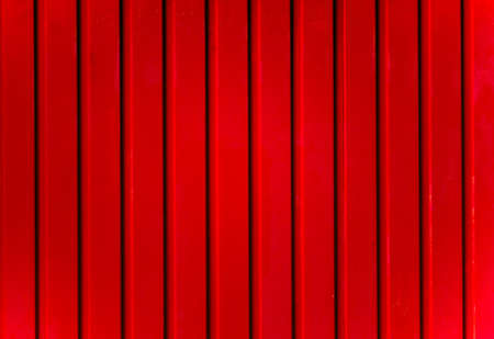 Red metal fence texture