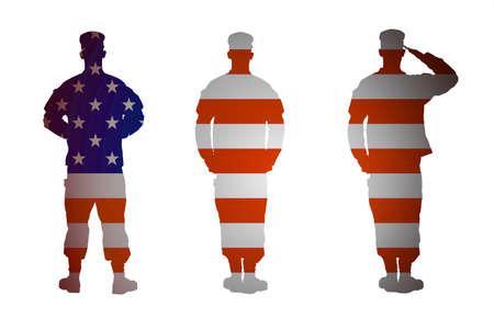 salut: US Army soldat
