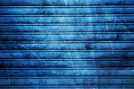 Texture of navy blue horizontal wooden planks photo