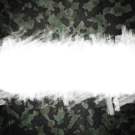 Grunge military camouflage background with space for your text photo