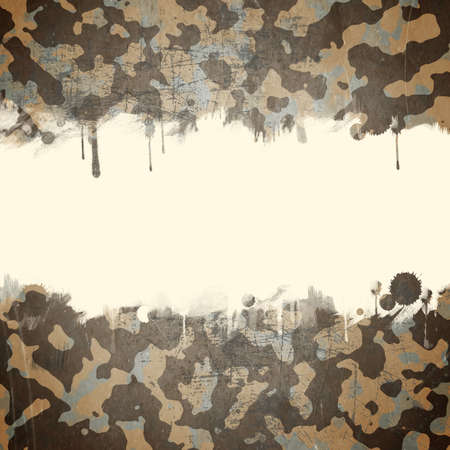 army background: Desert army camouflage background with a space for text