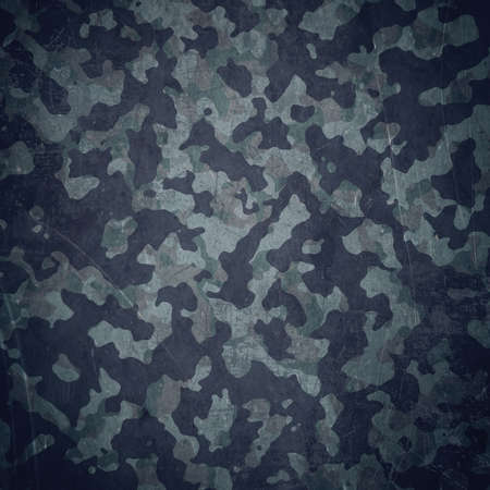 military uniform: Grunge military background. Camouflage pattern over american flag, scratched