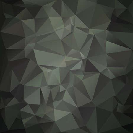 現代ミリタリー迷彩 (緑、ウッドランド) 成っている幾何学的図形  イラスト・ベクター素材