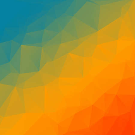 modern background: Abstract modern rainbow triangle background  Illustration