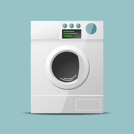 design: Washing machine flat