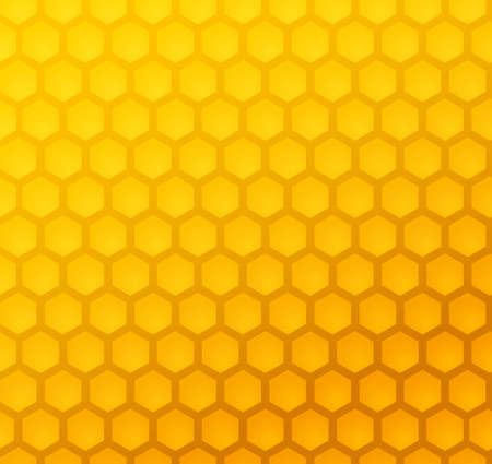 Seamless abstract honeycomb pattern (vector)