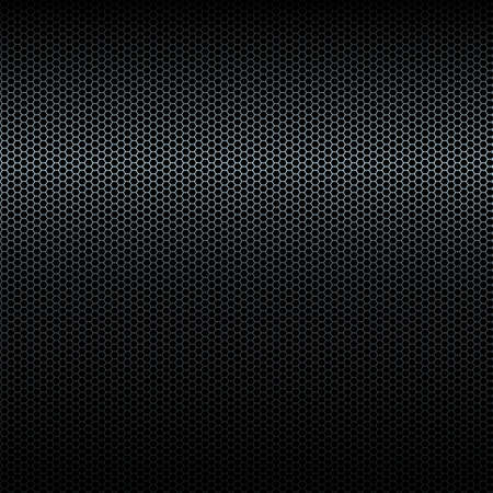highlight: Seamless vector black metal texture with highlight