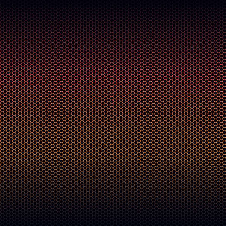 Seamless vector metal texture with red highlight
