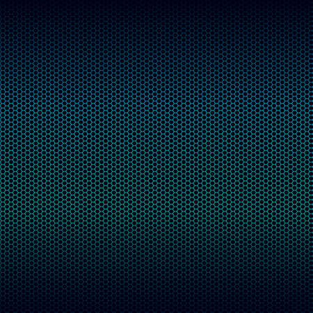 highlight: Seamless vector metal texture with blue highlight