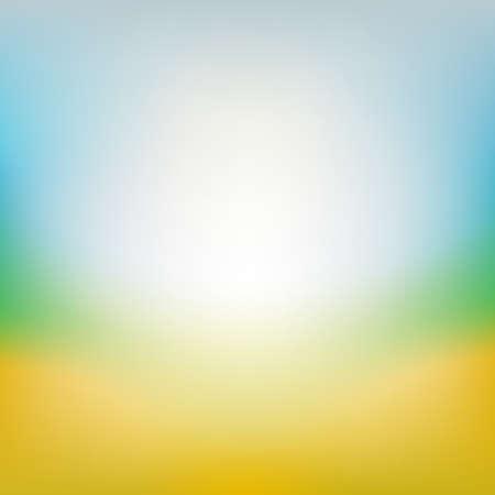 Blurred summer background vector