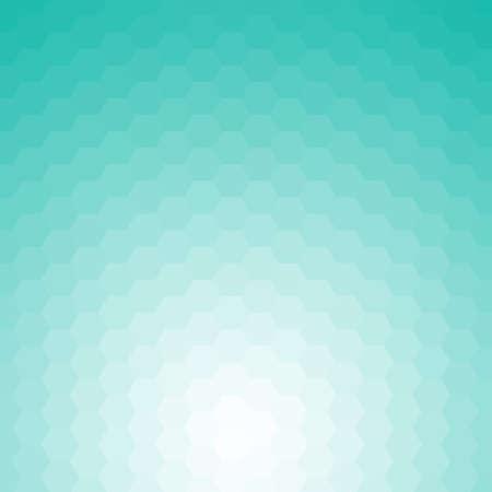 Happy abstract aquamarine geometric background