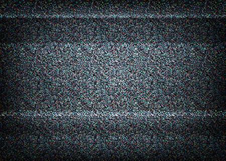 textura: Ninguna ilustración señal de TV. Vector escalable. Concepto de error