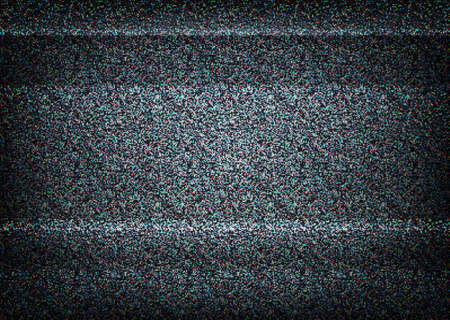 No signal TV illustration. Scalable vector. Error concept Иллюстрация