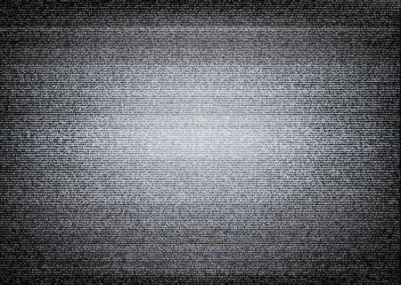 Nessun illustrazione segnale TV. Scalable Vector. Concetto di errore Vettoriali