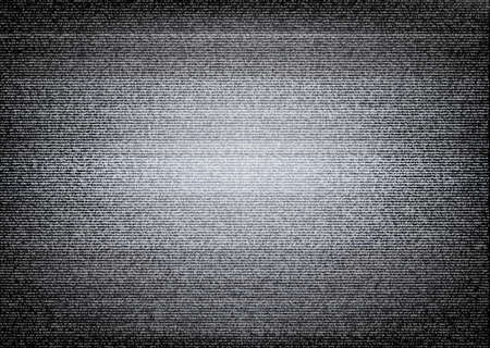 television screen: No signal TV illustration. Scalable vector. Error concept Illustration