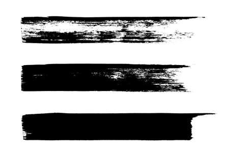 Set of grungy brushes Illustration