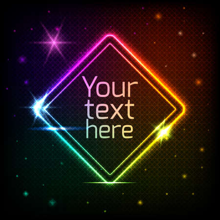 Abstract geometric background with space for your text