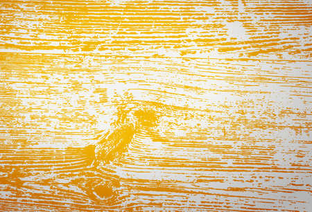 Vintage wooden texture with yellow toning, filter effect, vector background
