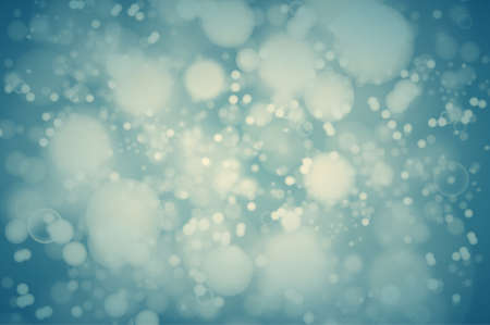 bright lights: teal bokeh background. abstract defocused bright lights Illustration
