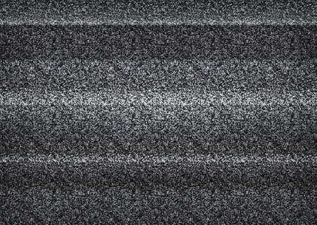 Static tv noise, bad tv signal, black and white, monochrome 向量圖像