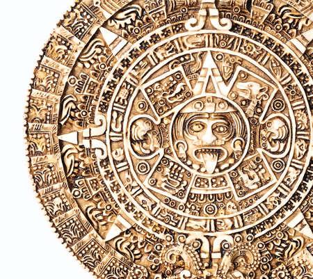 Aztec calendar photo