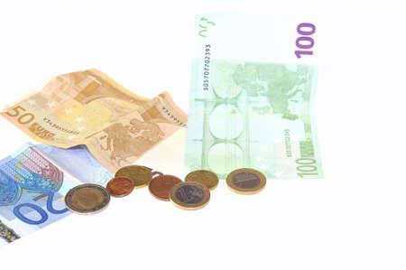 splurge: Money. Stock Photo