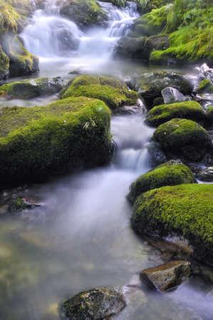 Waterfall in river. Stock Photo - 10061932