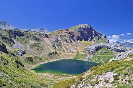 Somiedo Lakes, Asturias, Spain.