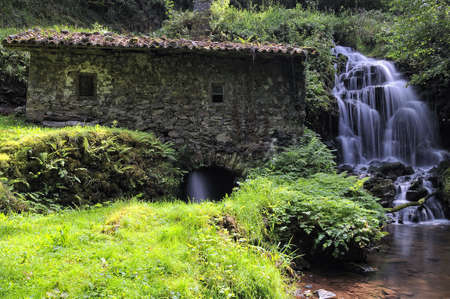 watermill: Old watermill. Stock Photo