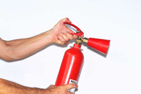fire extinguishers Stock Photo - 10062096