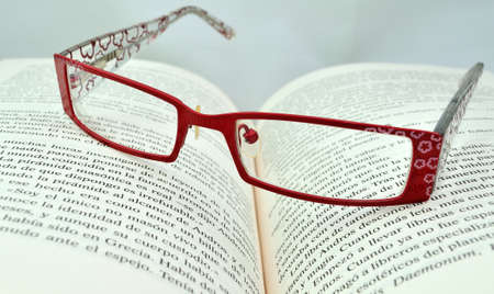 eyestrain: Glasses for reading.
