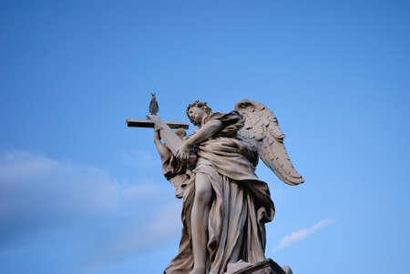 Berninis Angels, Rome, Italy. Stock Photo
