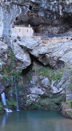 covadonga: Cave of Covadonga, Asturias, Spain.