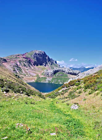 salience: Lakes of Somiedo,Asturias,Spain.
