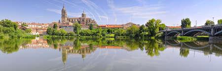 Cathedral of Salamanca, Spain. Stock Photo